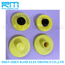 New products RFID animal ear tag/plastic ear tag for cattles /ear tag for pigs