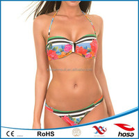 newest sheer neoprene bikini girl