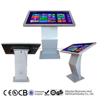 High Sensitivity 32/42/46/47/55 inch 3g wifi lcd touch photo booth kiosk prices