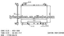 european style water cooling radiator