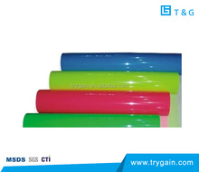 High Quality PVC Heat Transfer Vinyl Film in red color