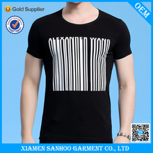 Slim Fit Fashionable T Shirt Elastane Top Quality With Your Own Logo Made In China