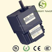 90W 90mm high voltage brushless dc electric wheel hub motor