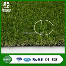 UV resistance decorative green natural 30 pile height artificial turf grass with SGS CE ROHS test