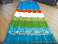 High quality colour coated steel roof sheets in jiangsu (PPGI,PPGL)