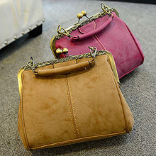 E894 alibaba manufacturers woman vintage suede designer hand bags