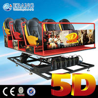 Amazing Best-Selling 4d 5d 6d moving seat cinema