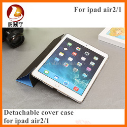 Fashionable Pu Leather Cases With Stand For Ipad Air ,PU Leather Stand For iPad Case