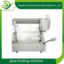 Hot selling glue binding/binder machines price with free shipping