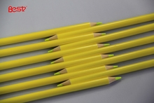 """7"""" Yellow lead colored pencil for school and office"""