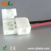 Convenint 8mm wide LED strip connector for 3528 led strips