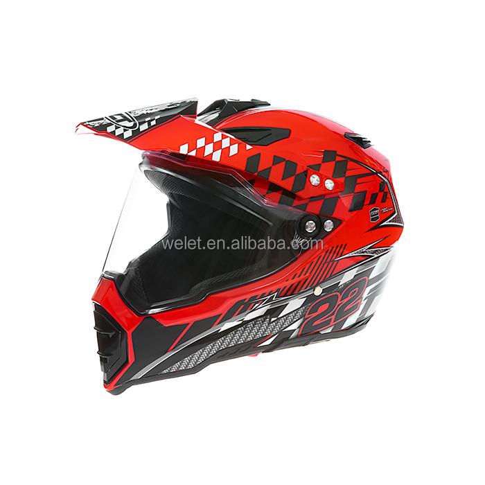 Full face helmet for motorcycle dirt Bike Helmet wlt-128 New style Black full face helmet for motorcycle