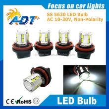 ADT BRAND DC12-16V with lens on the top H4 H7 H8 H11 9005 9006 available AUTO LED BULB