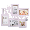 factory sale wooden baby photos frames, funny baby photo frames made in China