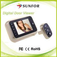New products 2015 smart home video doorbell , dog barking doorbell , wireless solar doorbell