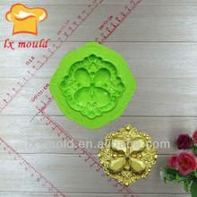 nuevo diseño de silicona pastel de fondant herramientas de decoración