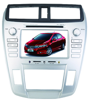 8 inch car HD touch screen dvd player with gps system/TV/bluetooth/Radio function for honda City 2008-2011