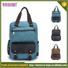 made in china men leather outdoor travelling fashion backpack