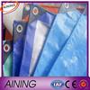 PE tarpaulin with UV triangle plastic corner