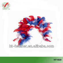multicolor beautiful turkey feather hair band for fashion party