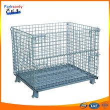 rolling metal storage cage