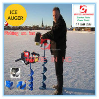 2013 Pride Made Gasoline Portable Ice Digger auger