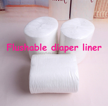 Antibacterial 100% Biodegradable & Flushable Bamboo Cloth Diaper Liners