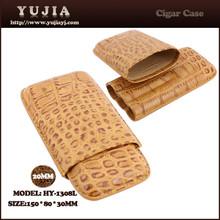 Guangzhou cheap leather cigar case cohiba cigar tube