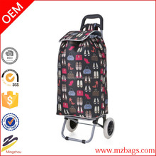 2015 Hot Sale Lightweight Shopping Trolley Trendy Folding/Collapsible Shoes & Bags