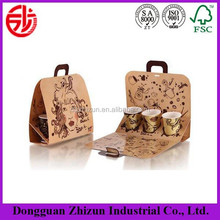 Custom design coffee paper packaging box