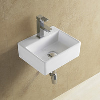 Hot selling ceramic mini wash basin/small basin/lavabo(BSJ-A8038)