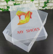 clear plastic shoe box with lids,custom plastic shoe box with lids,high quality plastic shoe box with lid