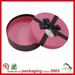 Hot selling good quality wholesale large round paper box tube gift containers for chocolate or toys foods