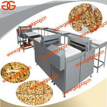 Industrial Peanut Shaping and Cube Cutting Machine|H-efficiency Crisp Rice Brittle Former and Cutter