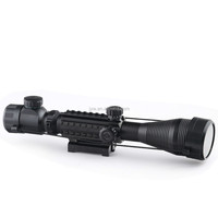 4-12x high power infrared military night vision rifle scope for hunting