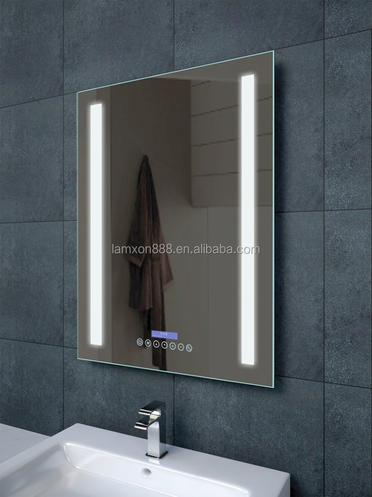 Elegant Lighting, Music, Video, And Control  It All Makes Sense In The Bathroom These Days Take The Viio Smart Mirror Integrated Into The Mirror Are Two Speakers And Bluetooth 40 Connectivity, Which Means That You Can Stream Songs