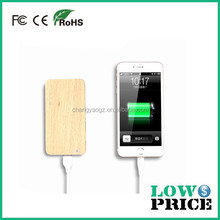 2015 Outdoor workers essential artifact power bank 8000mah in solid wood aluminium alloy materil with for all digital products