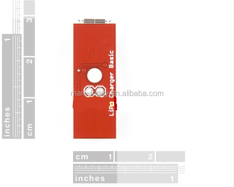 Electronic 3 7v Red Lipo Battery Usb Battery Charger For