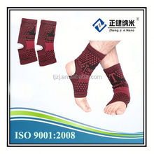 negative ions tourmaline ankle support