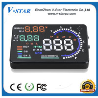 hud head up display with stone hd tft color touch lcd screen module