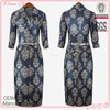 Office/formal long sleeve dresses women the clothes for autumn season