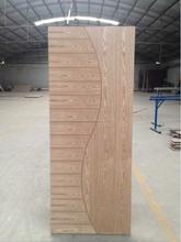 Puertas de madera de madera sencilla puertas fábrica de china