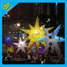 Decoration inflatable stars , inflatable star light