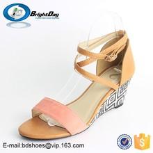 Sunny day sandals/women's studded Dress flat Thong Sandals women high heel sandals