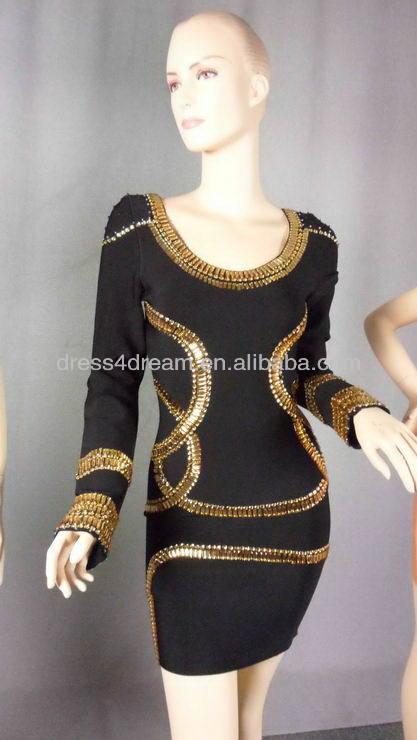 novo design baratos vestidos bandage para festa vestido de bandagem preto