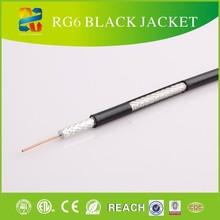 RG6/U 18 AWG CATV Coaxial Cable PVC, 60% AL Braid Shield, SKYPE: ivy-zhou0808