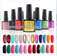 2014 Nail Art Soak-Off Glitter Polish UV Color Gel UV Lamp Tips Decoration 10/15ml