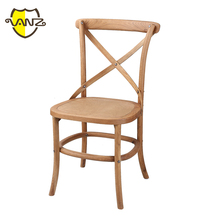 With quality warrantee factory directly leather and wood armchair