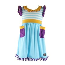 2015 New Arrive Baby Girl Summer Casual Cotton Infant Birthday Dress