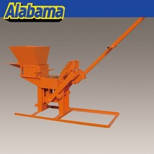 QMR2-40 easy operation and moving good output china manual clay brick making machine for clay